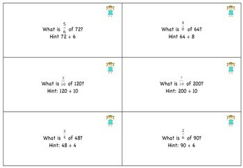 Finding the Fraction of a set