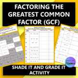 Factoring the Greatest Common Factor (GCF)