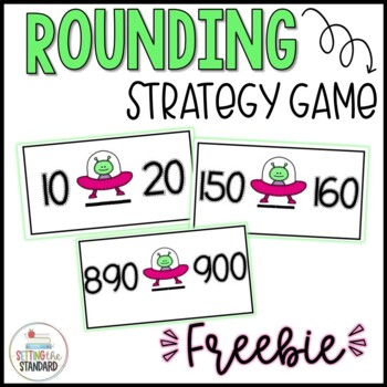 Finding the Halfway Number Rounding Strategy Game