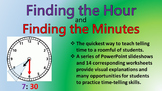Finding the Hour and Find the Minutes PowerPoint Slideshows
