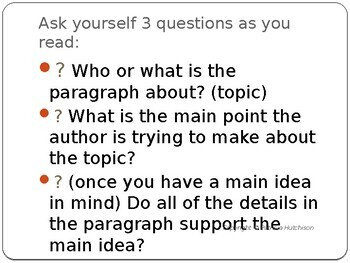 Finding the Implied Main Idea