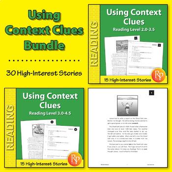 Using Context Clues {Bundle}