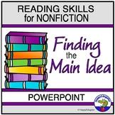 Main Idea PowerPoint for Nonfiction