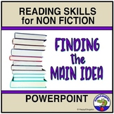 Main Idea PowerPoint for Nonfiction