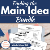 Finding the Main Idea - Reading Practice
