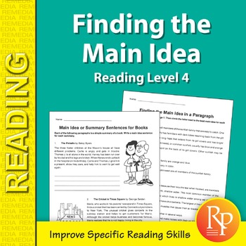 Finding the Main Idea: Specific Reading Skills Activities