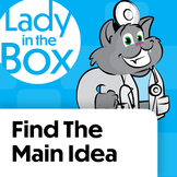 Finding the Main Idea with Dr. Lola- Boom Cards