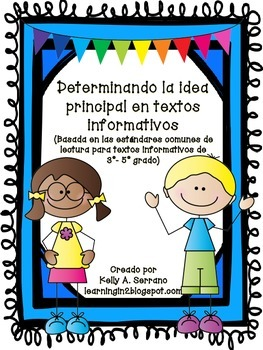 Teaching Main Idea in Spanish ( No Prep / Common Core Aligned )