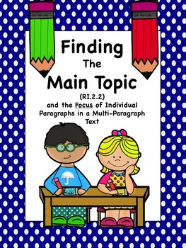 Finding the Main Topic