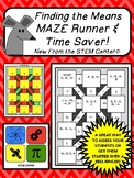 Finding the Means Maze Runner