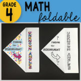 Math Doodle - Finding the Measurement of Unknown Angles ~ INB Foldable Notes ~