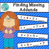 Finding the Missing Addend to Make Equivalent Number Sentences