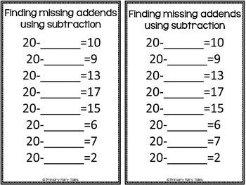 Missing Addends