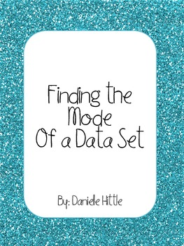Finding the Mode of a Data Set