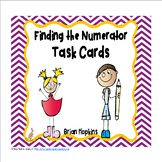 Finding the Numerator Task Cards