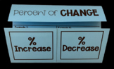 Finding the Percent of Change Foldable