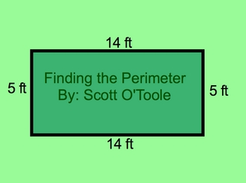Finding the Perimeter Math Smartboard Lesson