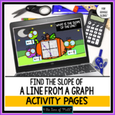 Halloween Finding Slope From a Graph Digital Self Checking