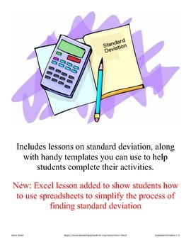 Finding the Standard Deviation of a set of numbers