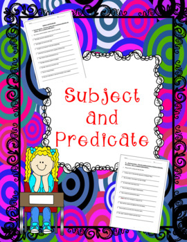 No-Prep Finding the Subject & Predicate