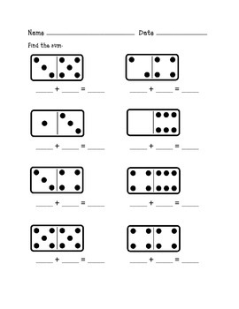 Finding the Sum With Dominoes