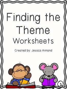 Finding the Theme Worksheet or Quiz
