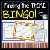 Finding the Theme Bingo game (3rd-5th grade)