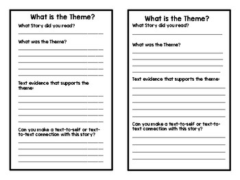 Finding the Theme in Short Stories