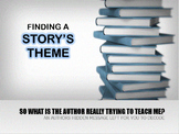 THEME- FINDING THE THEME OF A TEXT- Dungeon Interactive Powerpoint Adventure