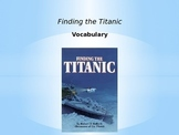 Finding the Titanic Vocabulary PPT