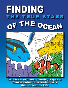 Finding the True Stars of the Ocean a Finding Dory Inspired Marine Science Unit