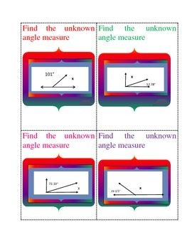 Finding the Unknown Angle Measure