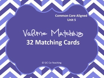 Finding the Volume Matching Cards