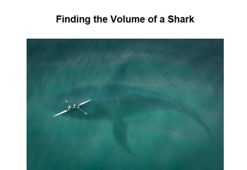 Finding the Volume of a Shark