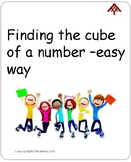 Finding the cube of a number-Easy way