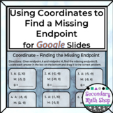 Finding the missing Endpoint Using Coordinates Google Driv