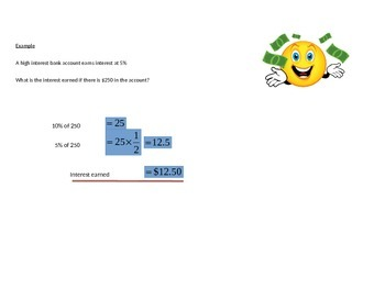 Finding the percentage of a Quantity
