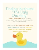"""Finding the theme/determinging theme """"The Ugly Duckling"""":"""