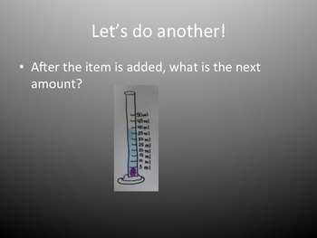 Finding volume with a graduated cylinder