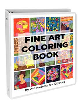 Fine Art Coloring Book