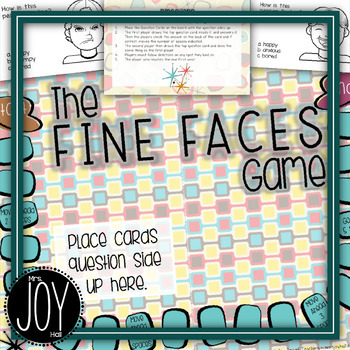Fine Face Game - Empathy, Facial Expressions, Nonverbal Cues