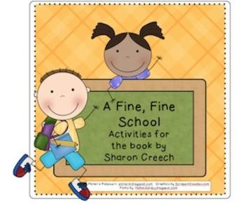 Fine, Fine Fun for A Fine, Fine School (compatible with 3rd grade Journeys)