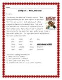 Fine Fine School Spelling Activities Journeys 3rd Grade Lesson 1