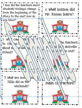 Fine Fine School comprehension board game