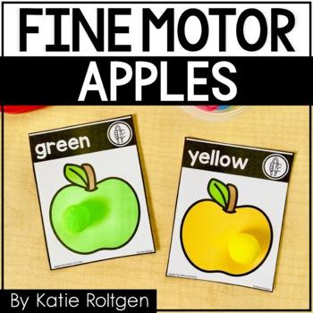 Fine Motor Activities {Apples}