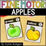 Apple Fine Motor Activities