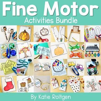 Fine Motor Activities Bundle