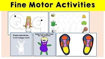 Fine Motor Activities - For finger strength