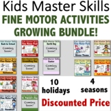 Fine Motor Activities Pack MEGA GROWING BUNDLE - (With Mat