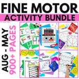 Fine Motor Activities | Fine Motor Practice Year-Long Bundle